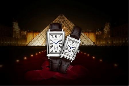 美爵 卢浮宫纪念系列腕表 艺术和科技结合
