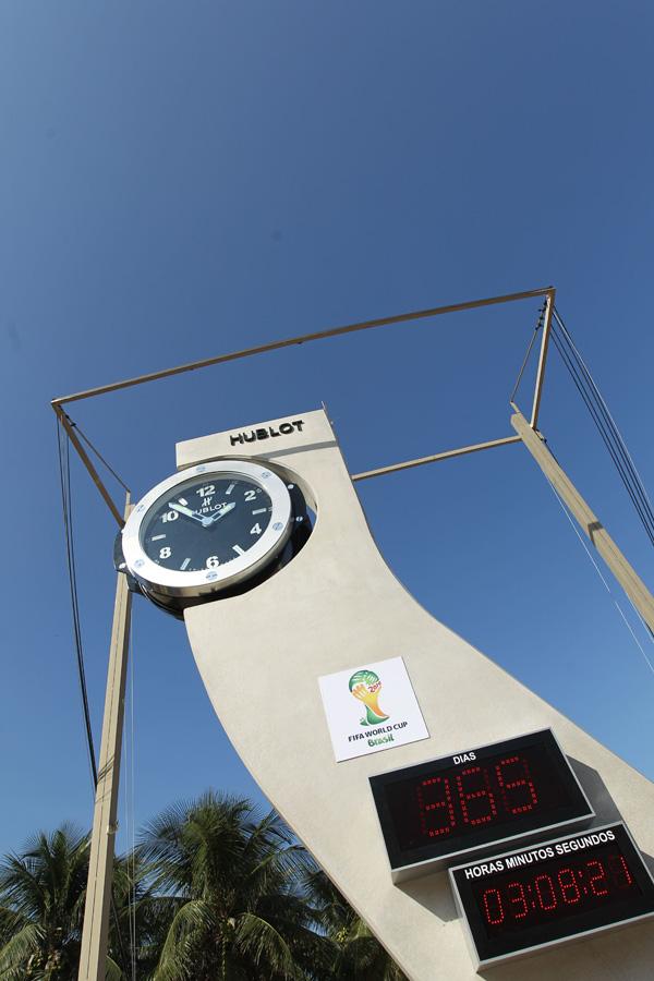 Hublot启动2014世界杯倒计时钟