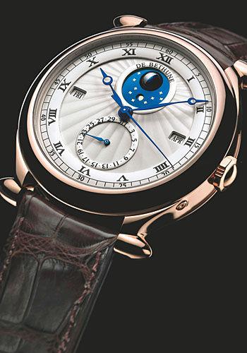 手表中的恒定动力与跳秒装置