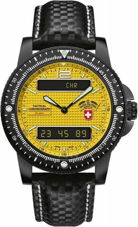三款适合25岁左右的男表之运动款:瑞士军表SWISS MILITAR-陆军Heer系列 2223 男士石英表