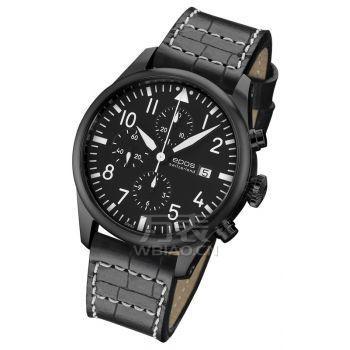 《速度与激情》男主角,保罗·沃克疑似同款手表,酷黑表盘,计时日历功能