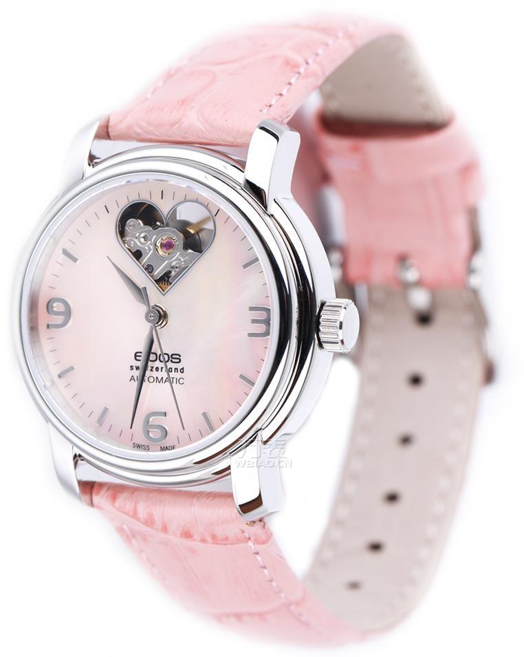 粉色的女士手表:瑞士爱宝时(EPOS)-Ladies系列4314.133.20.53.13 女士机械表