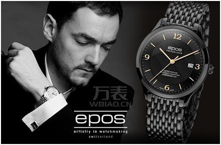 瑞士爱宝时(EPOS)-Limited Edition COSC系列 3420.159.25.55.35 男士机械表