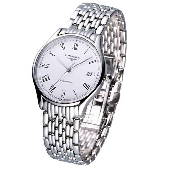 送给老公的圣诞手表推荐:浪琴longines-律雅系列 L4.760.4.11.6 男士机械表