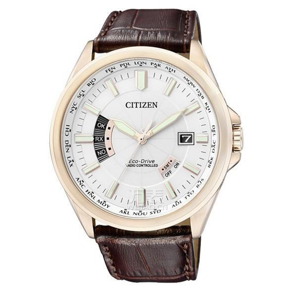西铁城citizen-光动能电波系列 CB0018-01A 男士光动能表。