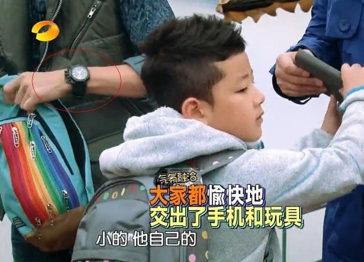 《爸爸去哪儿》王岳伦戴的那些表