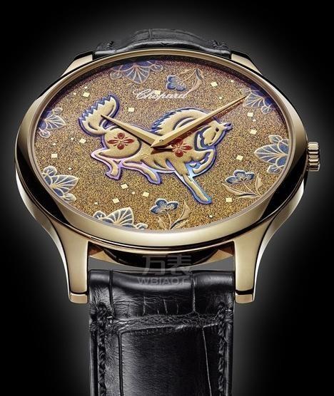 马年生肖腕表萧邦马年莳绘特别版腕表