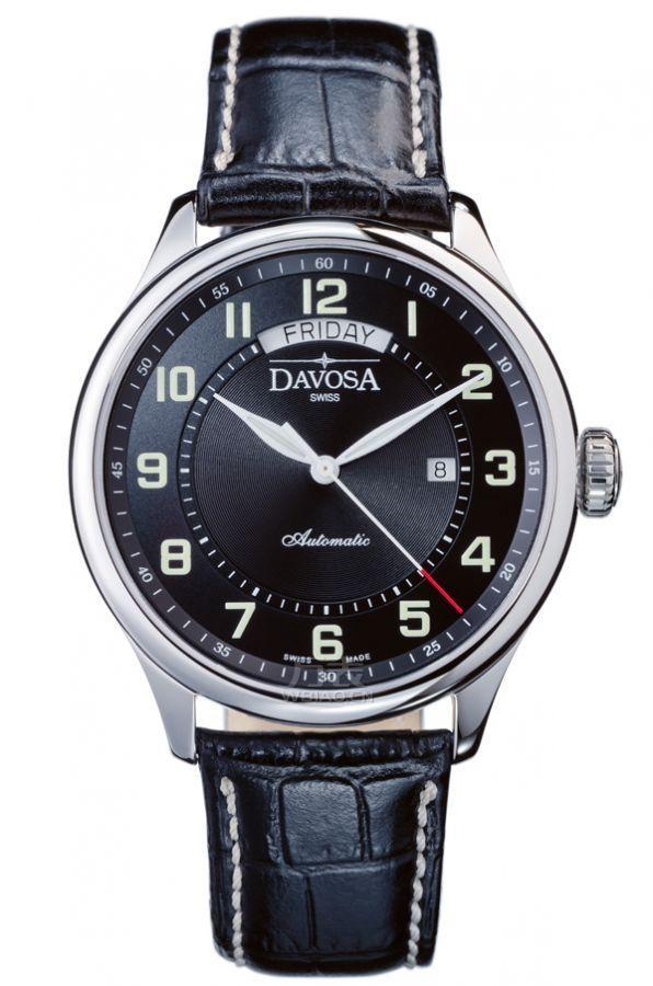 瑞士迪沃斯(DAVOSA)-PARES AUTOMATIC系列16148356 男士机械表