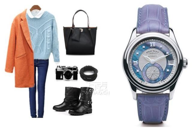 春节出游服装手表搭配之韩国风