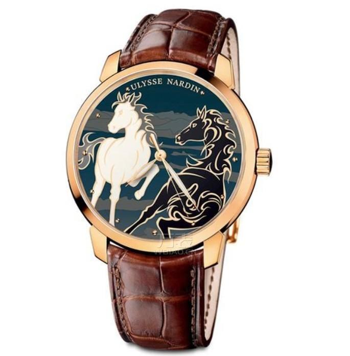 雅典马年鎏金骐骥腕表
