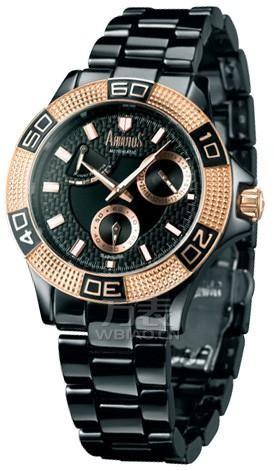 情人节甜蜜赠礼 送男友之个性黑色陶瓷手表