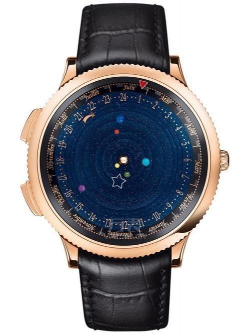 2014年SIHH新品 梵克雅宝诗意复杂天象仪腕表