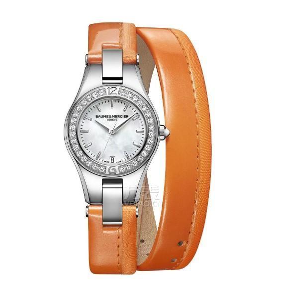 甜美、活力。亮丽橙色既能让柔和的白皙肤色换发蓬勃生机