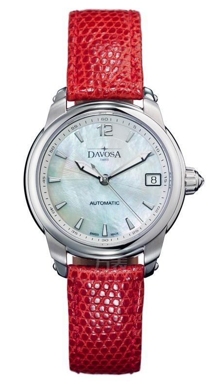 2014本命年带什么?迪沃斯红色皮带手表
