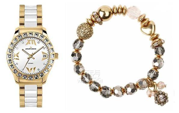手表手链随心搭 腕上的层叠时尚