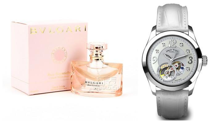 三八妇女节礼物:艾美达女表与宝格丽香水