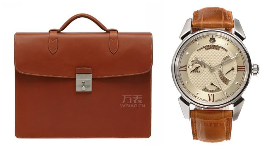 商务手表公文包搭配攻略 塑造时髦精英男形象