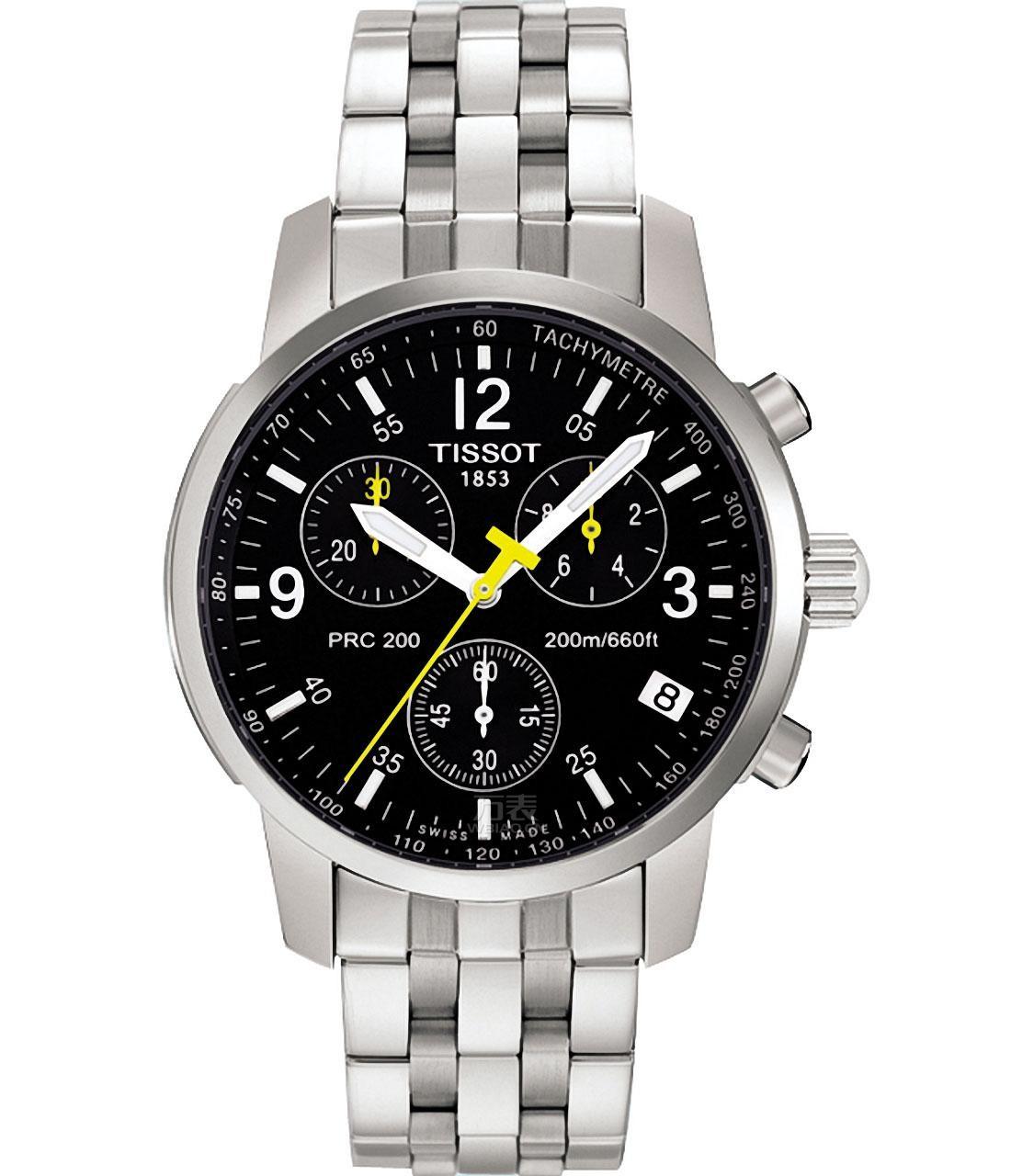 3000左右天梭男士手表推荐表款一:天梭PRC 200系列石英表