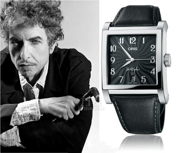 清明纪念表款:豪利时Bob Dylan纪念限量表