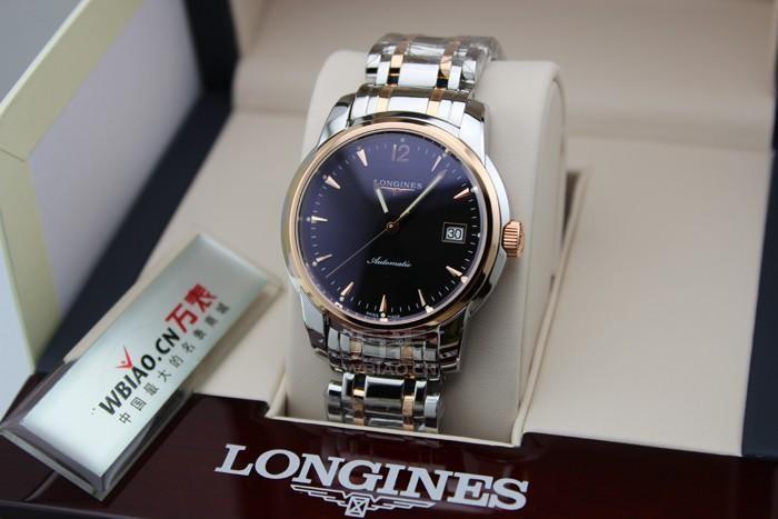 浪琴Longines-索伊米亚系列 L2.763.5.52.7机械男表