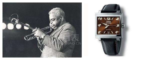 豪利时Dizzy Gillespie爵士限量表 致敬伟大爵士乐手