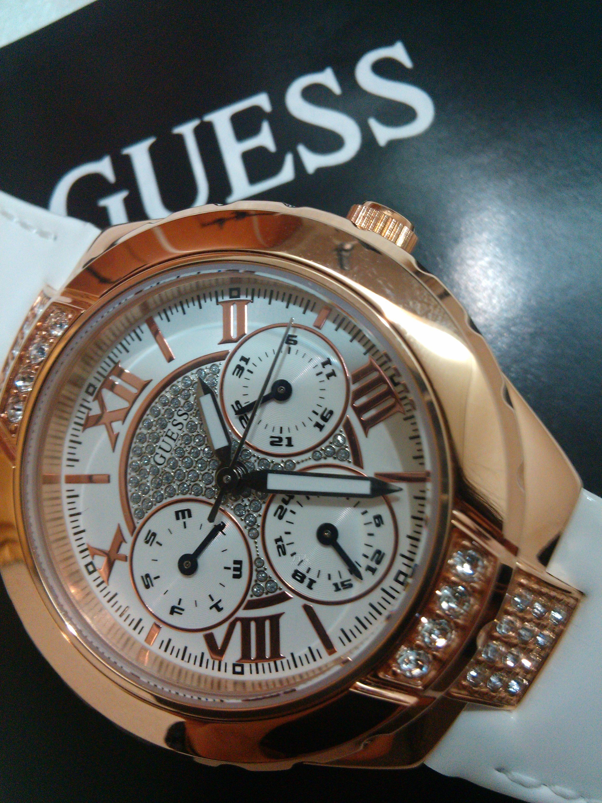 美美的Guess手表