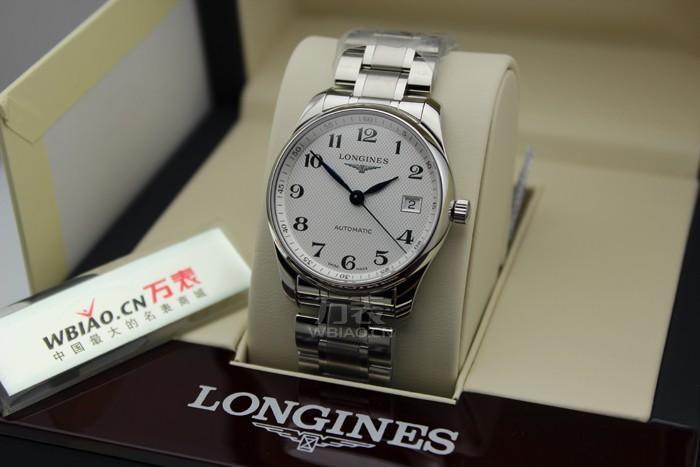 浪琴longines-名匠系列 L2.518.4.78.6 男士机械表