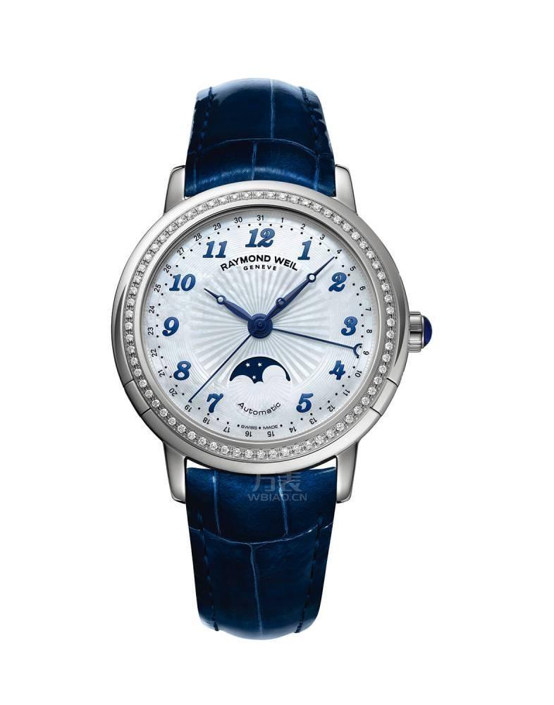 优雅华美月相表 女性最爱的复杂功能腕表