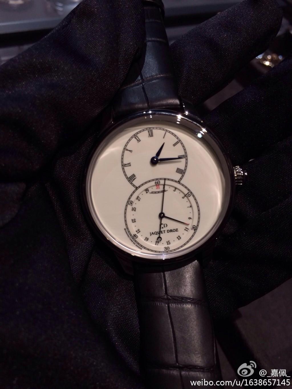 2014巴塞尔表展:雅克德罗新款腕表实拍图