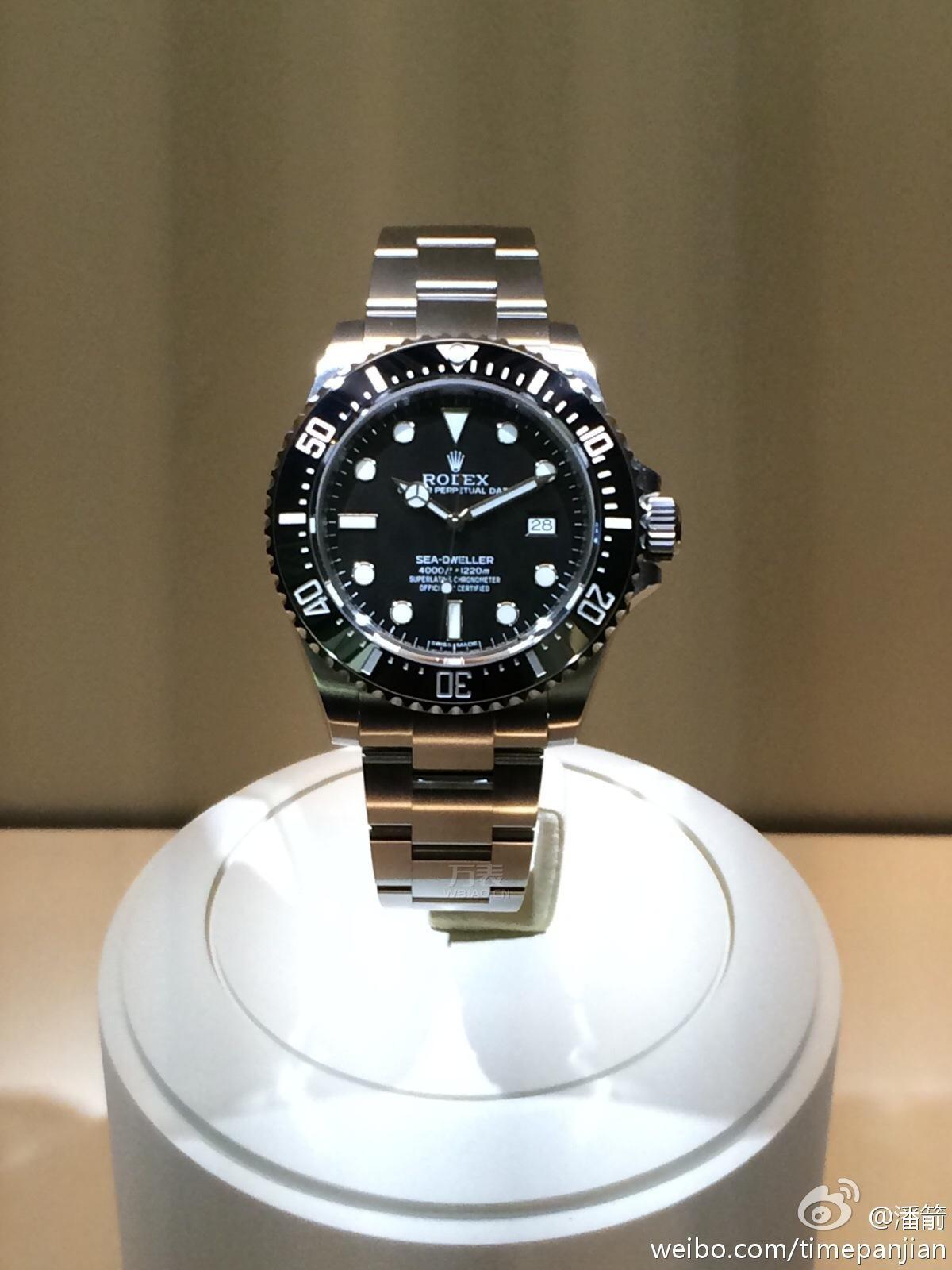 2014巴塞尔表展:新款劳力士腕表