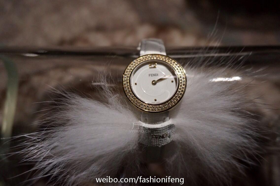 2014巴塞尔表展:FENDI以皮草和水晶为灵感营造出腕表的奢华贵气