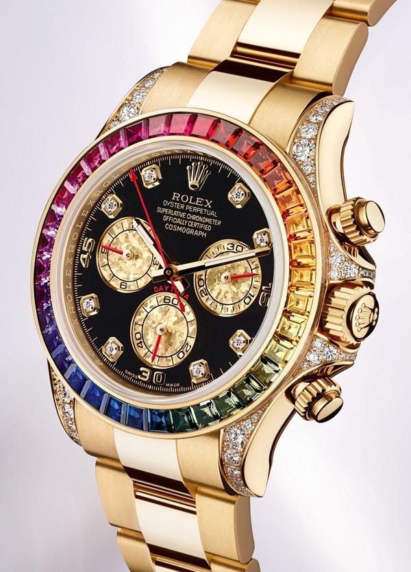 劳力士宇宙计型彩虹迪通拿116598RBOW-78608腕表