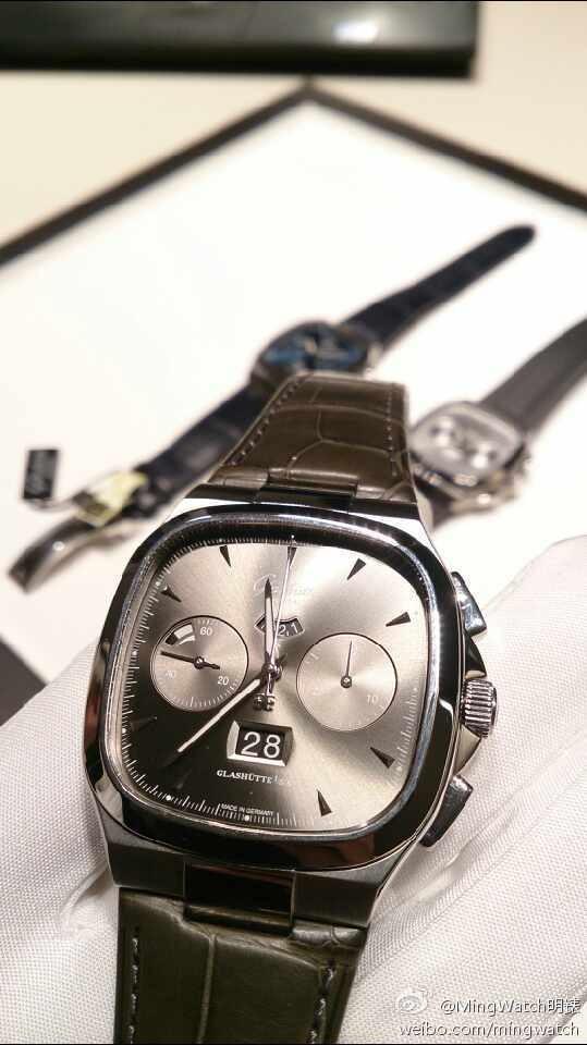 2014巴塞尔表展:格拉苏蒂新款腕表