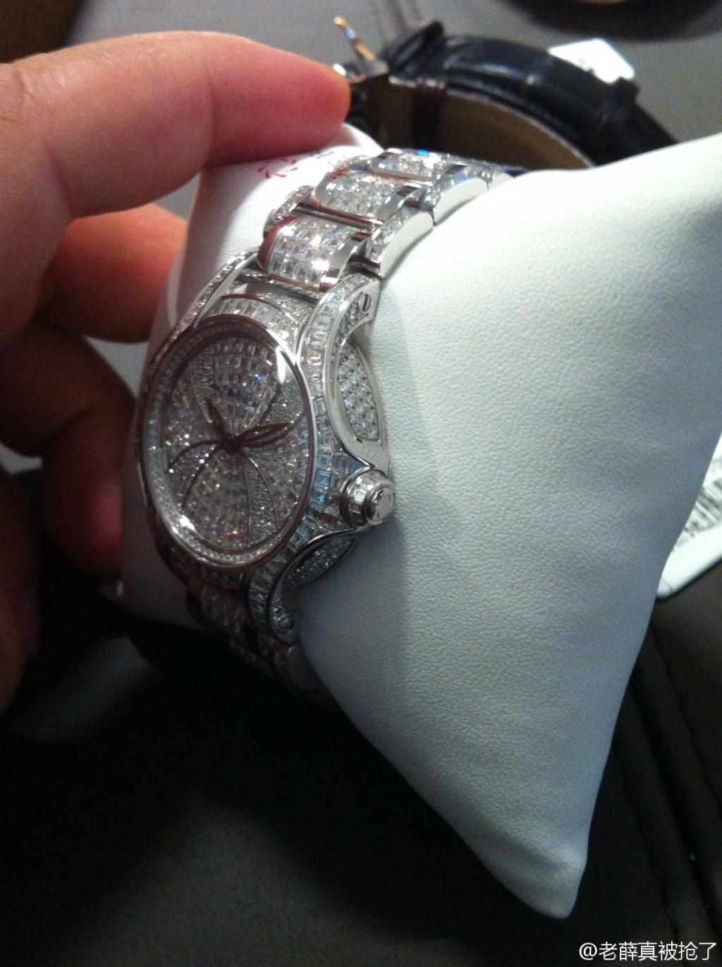 宝齐莱白蒂诗限量版Pathos Diva Haute Joaillerie腕表