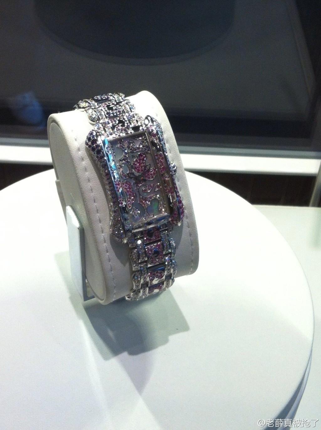 宝齐莱雅丽嘉RoyalRose限量珠宝腕表