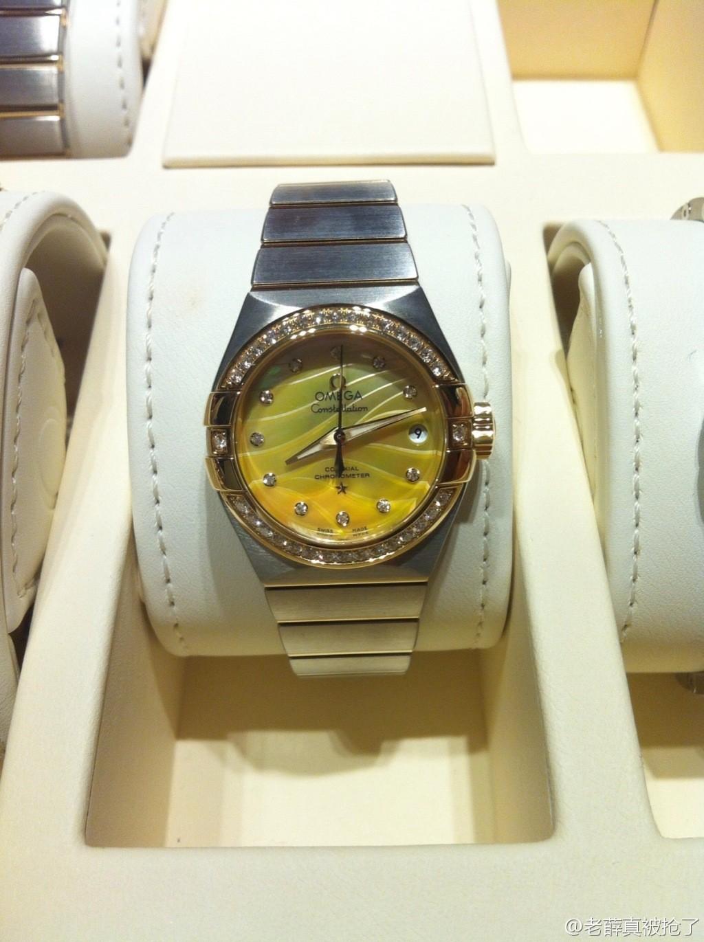 2014年巴塞尔表展:欧米茄新款腕表