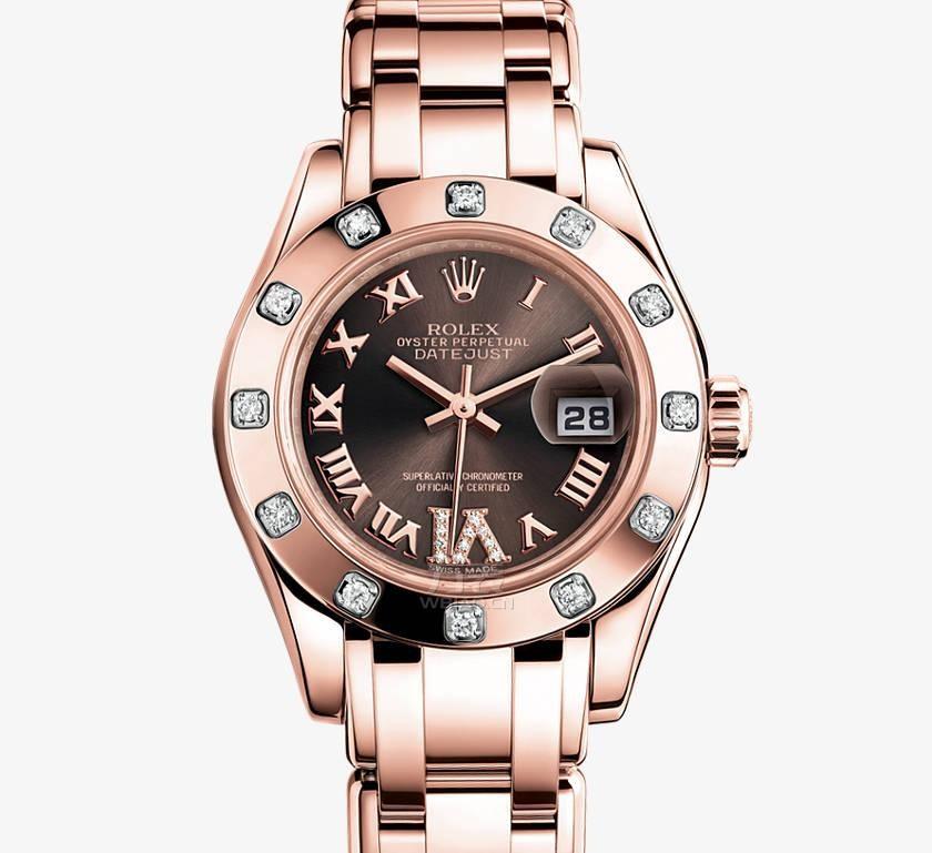 劳力士日志珍珠淑女型腕表 型号80315