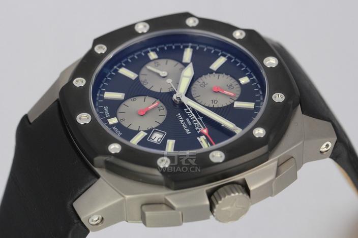 瑞士迪沃斯(DAVOSA)-Titanium Chronograph系列 16150555 机械男表