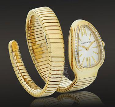宝格丽蛇形腕表
