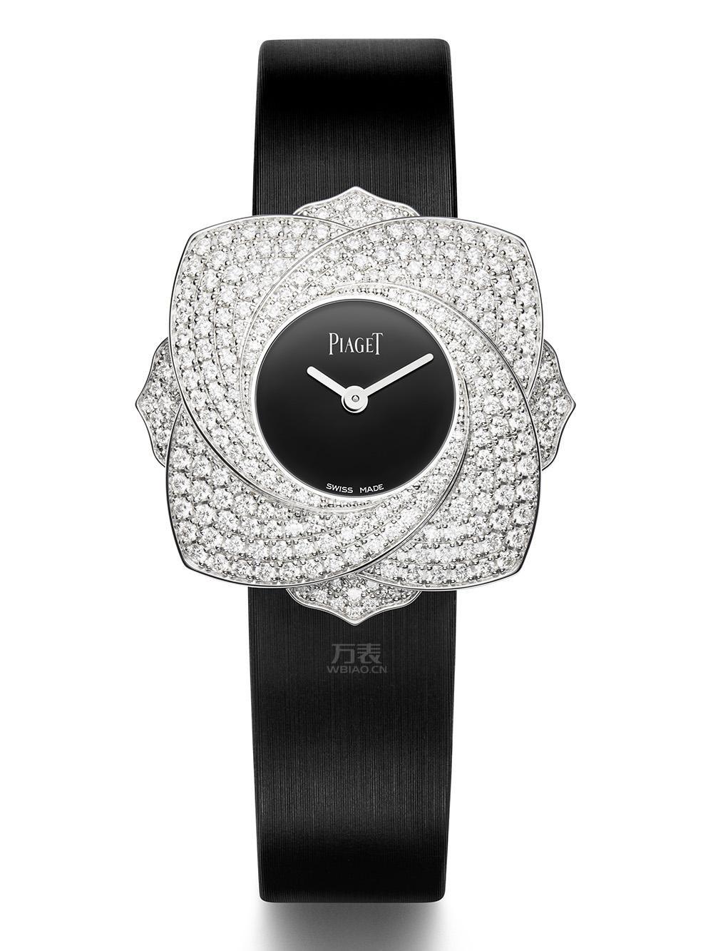 伯爵手表图片,伯爵玫瑰腕表高贵与优雅同在