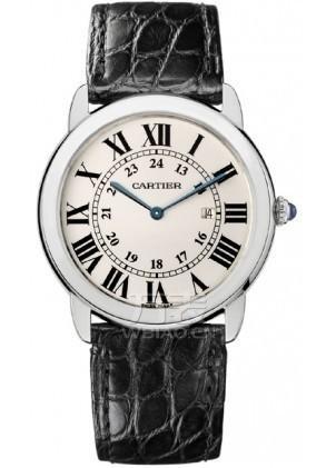 卡地亚cartier-Ronde solo de Cartier系列 W6700255 男士石英表