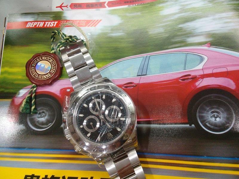 分享劳力士手表英姿 速度与时计结合