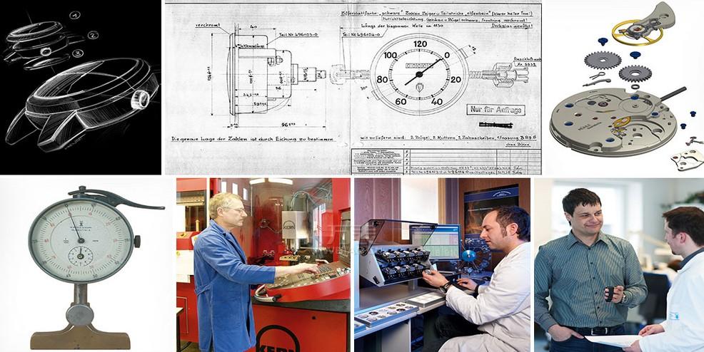 传统的手工制表工艺:德国格拉苏蒂·莫勒腕表的制造