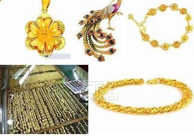 泰式黄金首饰在福州首饰批发市场出现