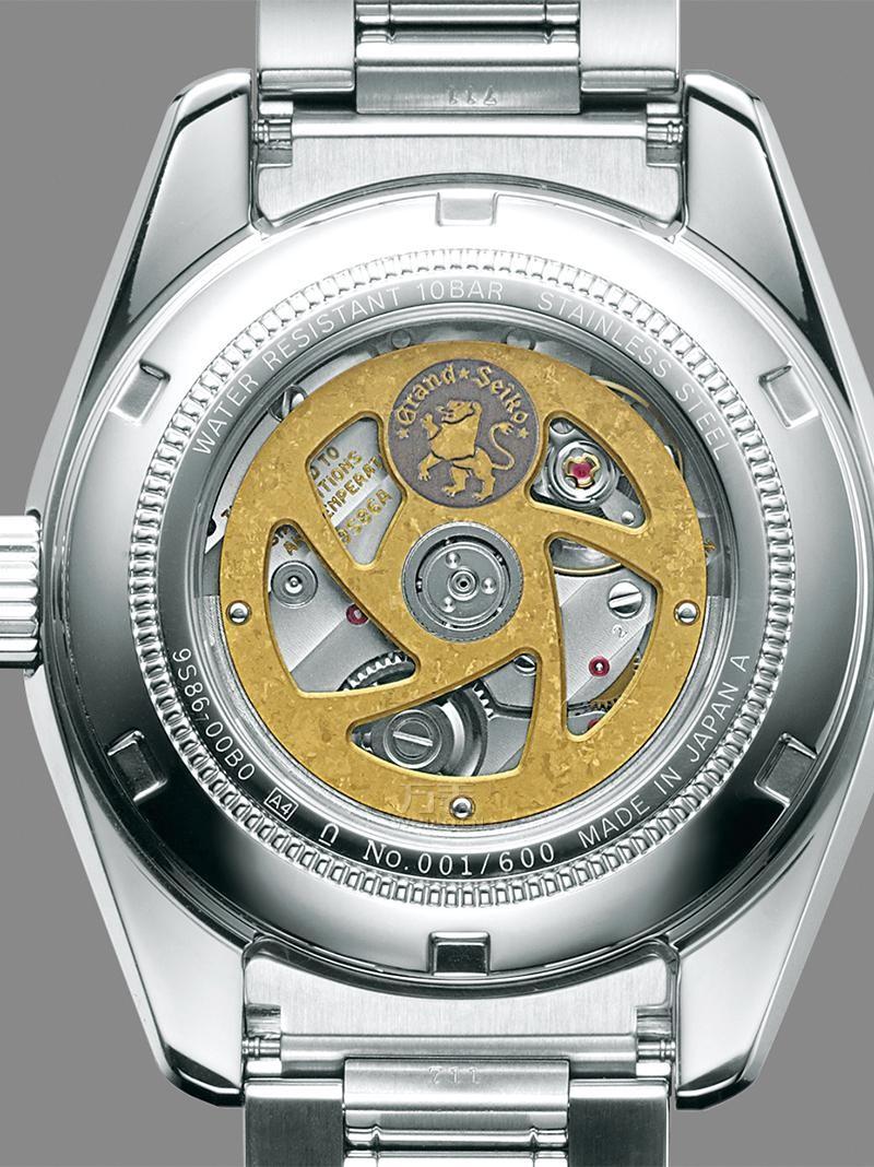 精工Hi-Beat高振频GMT机械腕表