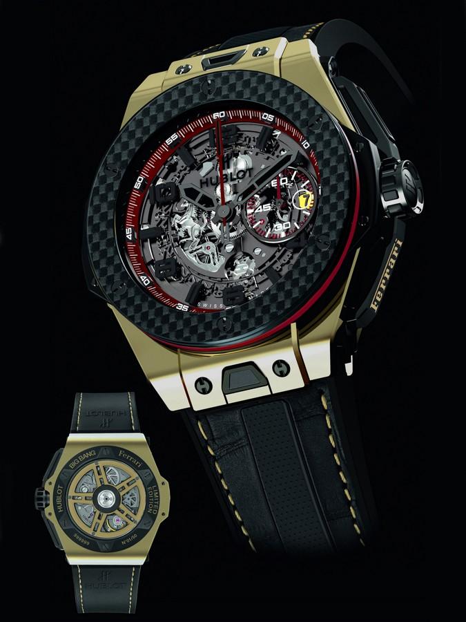 宇舶表Big Bang系列法拉利中国版限量版腕表