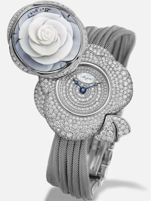 宝玑Secret de la Reine腕表白金款(型号:GJ24BB8548DDCJ99)
