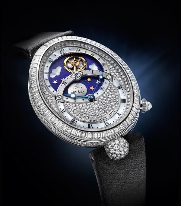宝玑那不勒斯日夜显示高级珠宝表