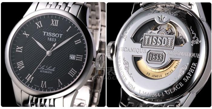 天梭力洛克手表真伪鉴别 为购天梭表提供保障