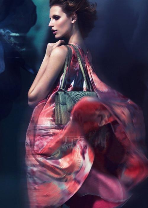 阿玛尼女装2014春夏系列广告大片